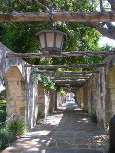 At the Alamo, San Antonio, TX.