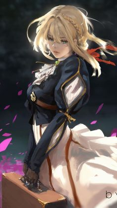 Violet Evergarden Anime Girl HD Mobile, Smartphone and PC, Desktop, Laptop wallpaper resolutions. Manga Girl, Chica Anime Manga, Girls Anime, Anime Kawaii, Violet Evergarden Wallpaper, Violet Evergreen, Persona Anime, Violet Evergarden Anime, Character Art