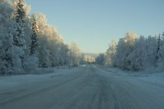 This scenic drive can be very dangerous and deadly during the dark, snowy and icy months that happen in Alaska for nearly half of the year.