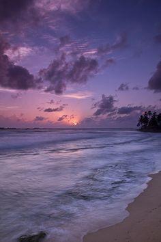 Sunset, Hikkaduwa, Sri Lanka (www.secretlanka.com)