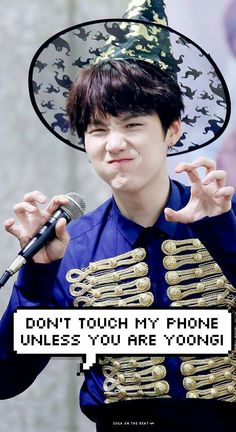 Image result for bts don't touch my phone