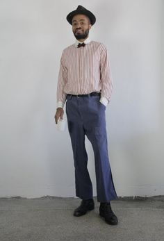 Vintage Pants  US Postal Worker   Mens Wear  Blue by VeraVague.etsy.com