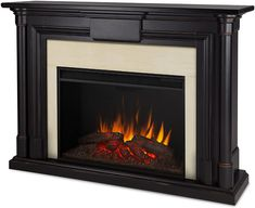 Shop a great selection of Real Flame Maxwell Grand Electric Fireplace, Large, Blackwash. Find new offer and Similar products for Real Flame Maxwell Grand Electric Fireplace, Large, Blackwash. Brick Fireplace, Fireplace Remodel, Wood Fireplace, Fireplace Tv Stand, Farmhouse Fireplace Decor, Fireplace