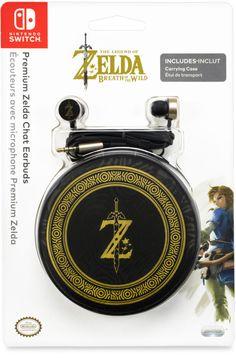 Écouteurs avec Micro + Étui édition limitée Zelda - Switch - Acheter vendre sur Référence Gaming