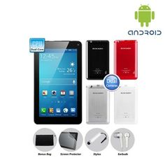 """Google Android 4.2 Dual-Core MID 1.6GHz 8GB 7"""" Tablet PC - Assorted Colors $74.00"""