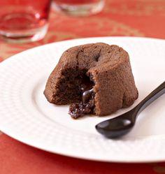 Fondant au chocolat toblerone de Cyril Lignac - les meilleures recettes de cuisine d'Ôdélices