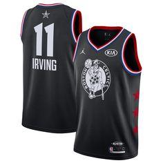 84e4d5308 Kyrie Irving Boston Celtics Jordan Brand 2019 NBA All-Star Game Finished  Swingman Jersey – Black