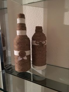 bottle yarn with jute