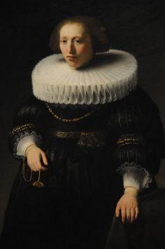 Rembrandt van Rijn - Portrait of a Woman, 1632
