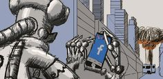 Mientras usted lee este artículo aparentemente en calma, se está produciendo una guerra entre bots.  Cada uno con un objetivo específico, solapándose sus funciones. Cosa que ocurre en entornos más controlados como la Wikipedia, ya ni hablemos en el caótico mundo de la red.  #Automatismos #Internet #Bots