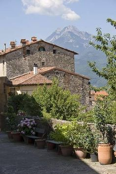 Barga, Italy - a place from which to explore Parco Naturale Alpi Apuane, Tuscany