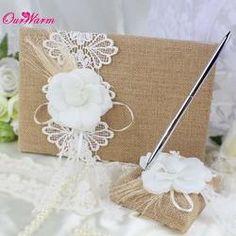 Wedding Guest Book& Pen Set