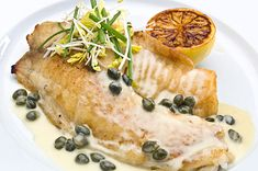 Tilapia with Cream Sauce and Capers