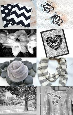 Black and White Designs of Nature by Marcia on Etsy--Pinned with TreasuryPin.com