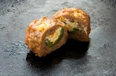 Armadillo Eggs - jalepeno poppers wrapped in breakfast sausage. Sounds different but I am intrigued!