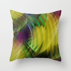 Buy Multicolored abstract no. 65 Throw Pillow by Christine baessler. Worldwide shipping available at Society6.com. Just one of millions of high quality products available.