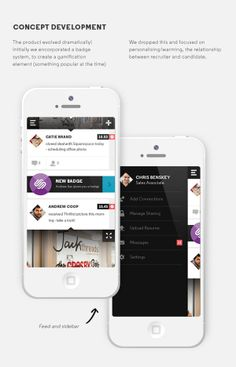 Krow: Mobile Platform on Behance