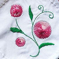 hand embroidery workshop at inorbit mall, pune | Sarah's Hand Embroidery Tutorials