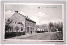 WIMMERTINGEN Luiker steenweg Tramspoor Winkel Commerce Voie de tram - Pub margarine Solo Chicorei De Beukelaer / Hasselt