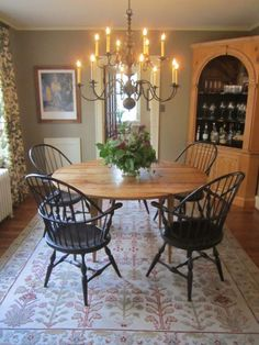 Round Table Giant Chandelier