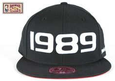 1989 Houston NBA All-Star Fitted Hat