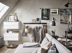 El estilo sueco mezcla colores claros y texturas naturales.