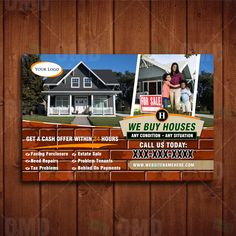 We Buy Houses Real Estate Marketing We Buy Houses, Real Estate Marketing, Home Buying, Stuff To Buy, Design, Design Comics