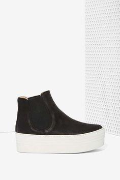 KMB Smooth Walker Leather Flatforms | Shop Shoes at Nasty Gal