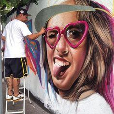 Sipros at work, 11/14 (LP) #streetart jd