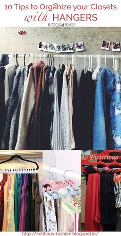 10 Great Ways to Organize Your Tiny Closet - Fictitious Fashion