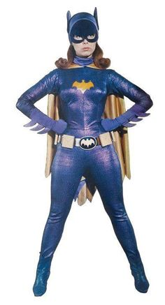 Yvonne Craig as Batgirl. What's not to like.