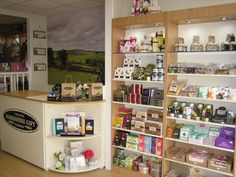 Sales Counter for Little Yorkshire Gift Co.