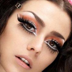 Dior haute couture makeup - Galliano style