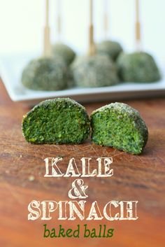 Baked Spinach and Kale balls: that's how I got my 2 and 5 year old kids eating spinach and kale…and even asking for more. LOL!!! These baked vegetable balls are a delicious snack or appetizer that everyone in the family will love.
