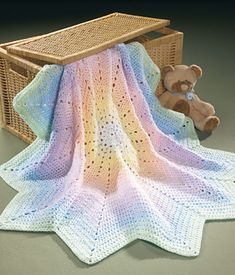 Ravelry: Peaceful Pastels Afghan pattern by Mary Maxim