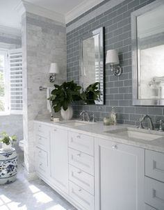 Georgian Dream - traditional - bathroom - raleigh - by Heather Garrett Design
