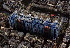 Beaubourg Quarter, Centre Georges Pompidou, Paris IV