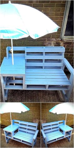 Pallet Furniture Projects pallets patio bench idea 10 - Not every person is blessed with the creative mind, but those who have the skills and creativity should never hesitate to show it to others.