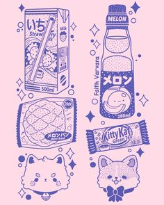 Just finished the sleeve artwork for the Corgi Convenience Store! They should be in the shop hopefully around the end of the month! Japanese Poster Design, Japanese Design, Japanese Art, Japanese Fashion, Vintage Japanese, Japon Illustration, Japanese Illustration, Cute Illustration, Graphic Design Posters