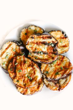 Garlic Parmesan Grilled Eggplant is melt-in-your-mouth delicious, the best BBQ recipe and side dish you will ever make! Easy, healthy, low carb, and keto friendly. Healthy Side Dishes | Dinner Recipes | BBQ Recipes | Eggplant Recipes | Grilling | Sides | BBQ'd Eggplant | Ketogenic | Weight Loss | Keto Dinner | Easy | Simple | Grilled Veggies | Barbecue | Barbecued | Best Bbq Recipes, Low Carb Recipes, Real Food Recipes, Healthy Recipes, Healthy Food, Baked Eggplant, Grilled Eggplant, Eggplant Recipes, How To Prepare Eggplant