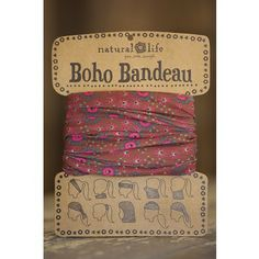 Boho Bandeaus Awesome!  Hope it doesn't slip off my head.