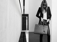 Saint Laurent Pre-Fall 2013 Ad Campaign featuring the model Freja Erichsen. Looks like it's going to be interesting. There will be new styles of the Sac Fashion Tape, I Love Fashion, Fashion Photo, Womens Fashion, Saint Laurent Paris, Tom Ford Gucci, Freja Beha Erichsen, Daily Look, Fall Looks