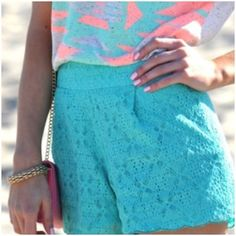 Bright & Bold colors make for a great summer outfit!