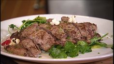 Episode 1005: Double Lamb Chop with Pea Shoot Beet Salad
