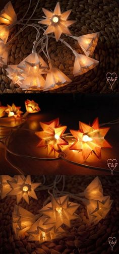 Diy Origami, Origami Tutorial, Christmas Crafts, Xmas, Presents For Friends, Paper Lanterns, Craft Work, Decoration, Diy And Crafts