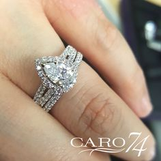 - Diamond Engagement Ring Mounting in White Gold with Platinum Head ct. Classic Engagement Rings, Engagement Ring Styles, Diamond Engagement Rings, Engagement Ring Jewelers, Pears, Fashion Rings, Halo, Heart Ring, Diamonds