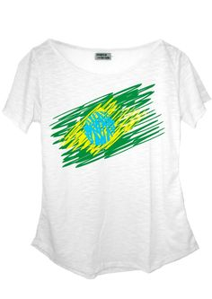 Camiseta em malha flamê (composição: 67%poliéster, 33% algodão).