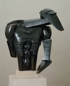 Sir Jacob Epstein Torso in Metal from 'The Rock Drill' Tate © The Estate of Sir Jacob Harlem Renaissance, Modern Sculpture, Sculpture Art, What Is Modern Art, Story Of Jacob, Star Wars Battle Droids, Tate Britain, Art Deco, Thing 1