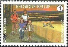 Summer Stamp 2008 -  Hiking