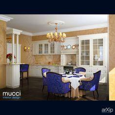 Кухня-гостинная: интерьер, квартира, дом, эклектика, 30 - 50 м2, студия #interiordesign #apartment #house #eclectic #30_50m2 #studio #atelier